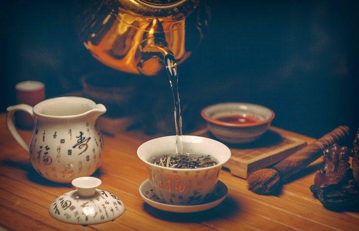Промывка чая