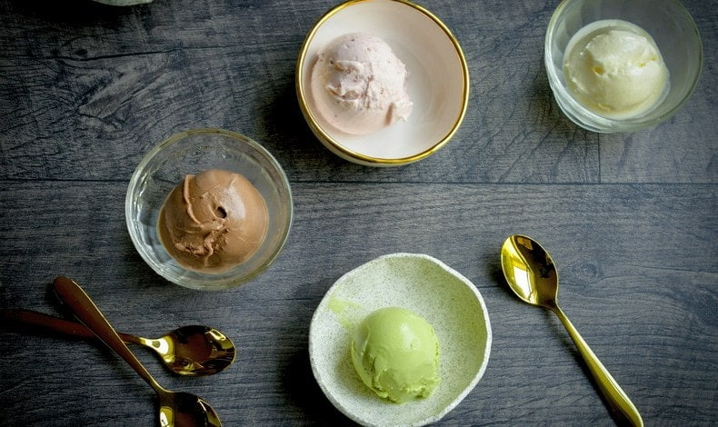 Рецепт мороженое с чаем матча