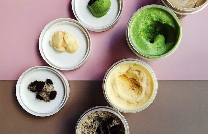 Рецепт мороженое с матча на сливках без яиц