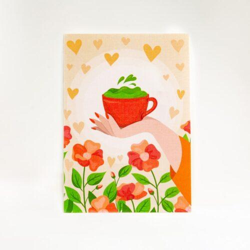 Купить авторскую открытку с дизайном