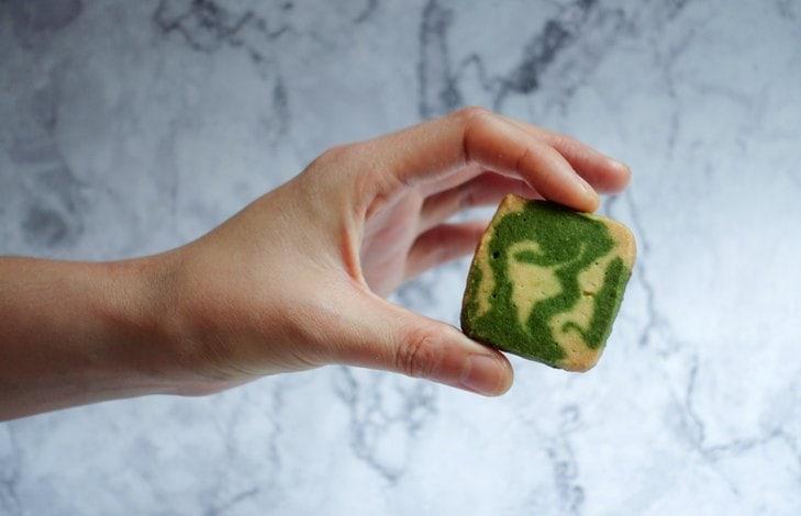 Рецепт печенье с чаем матча