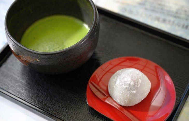 Рецепт японских сладостей Вагаси
