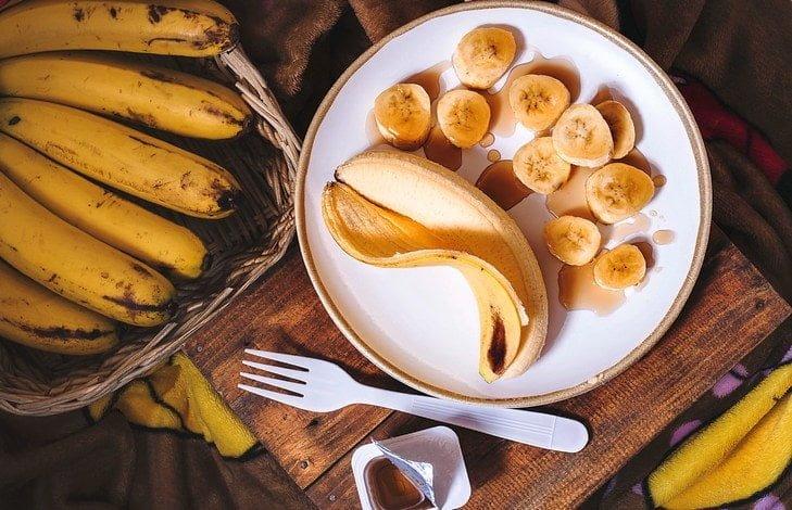 Рецепт жареные бананы
